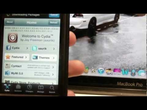 NEW Jailbreak iOS 6.0.1 & 6.0 Semi Untethered / Tethered iPhone 4, 3GS & iPod Touch 4G