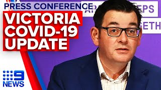 Coronavirus Victoria Premier Announces 270 New Cases 9 News Australia