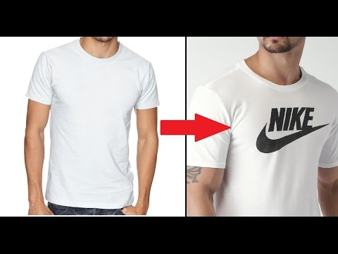 Make Your Own DIY Custom Brand T-Shirt Without Transfer Paper Tutorial
