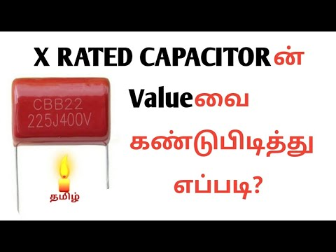 How to find the value of x rated capacitor