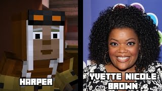 Characters and Voice Actors - Minecraft Story Mode Episode 7: Access Denied