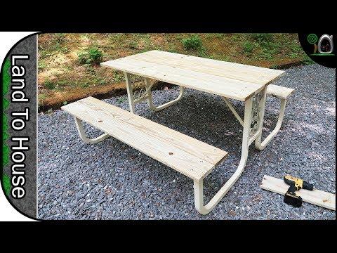Picnic Table Restoration