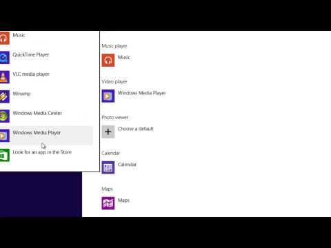 How to Set Default Apps on Windows 8.1