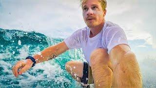 GOPRO HERO 5 SURFING - MALDIVES!