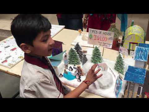 A SCIENCE PROJECT DIFFERENT TYPES OF HOUSE IGLOO (DURVIL)