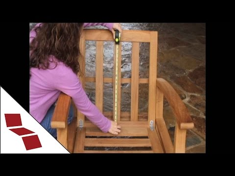 How to Measure For a Deep Seat Chair Cushion