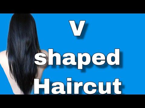 Ultra EASY V shaped HAIRCUT at home [Gloria Glam]