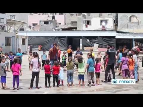 Humanitarian Aid: Gaza launch activities to help traumatized children