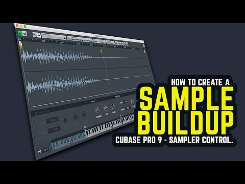 Cubase Pro 9 - how to create a Sample Loop Buildup