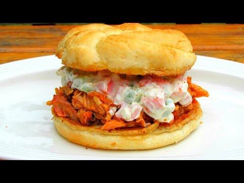 Buffalo Chicken Wing Sandwich - Buffalo Chicken Recipe