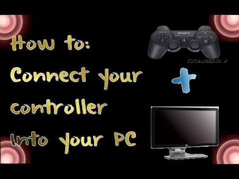 |TUTORIAL| How to connect your ps3 controller with your PC to play FIFA 14