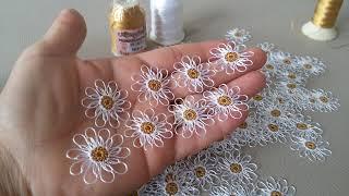 Kulak copuyle yapilan papatyanin yakin cekimi (hermosa flor,beautiful follewers..