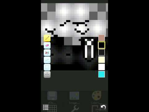 Mcpe 0.10.4 how to make your own skin
