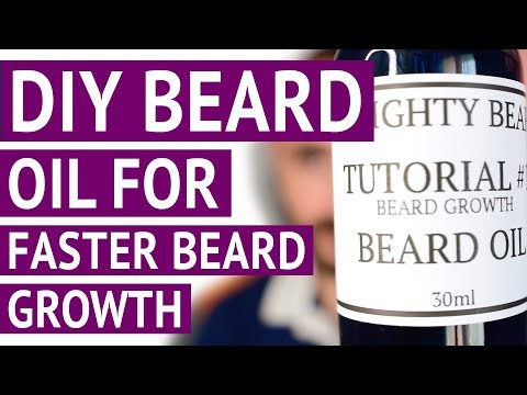 DIY Beard Oil Recipe for Faster and Fuller Beard Growth