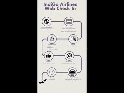 Indigo Web Check in Process