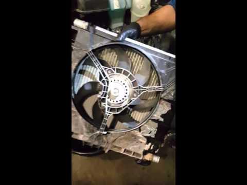2013 smart car condenser fan removal