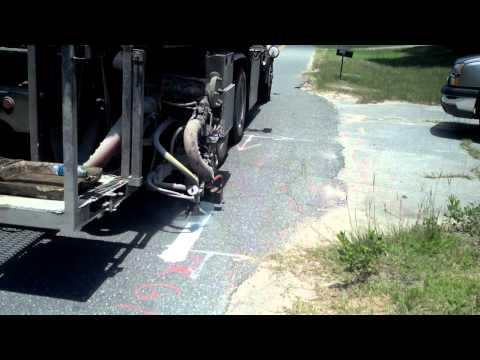 MRL Striping Truck