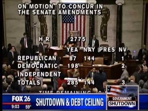 Fox26:  End of Debt Ceiling Date Suggest Higher Markets - Pt. 3