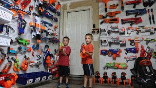Nerf War:  The Arsenal