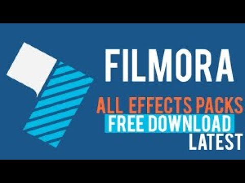 HOW TO GET WONDERSHARE FILMORA EFFECTS FOR FREE