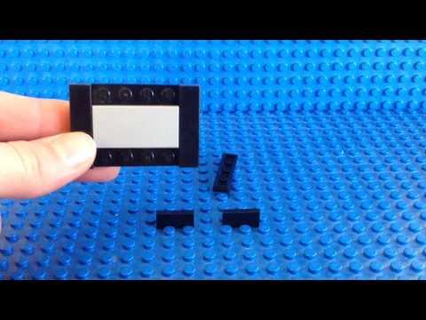 How To Make A Lego Tv