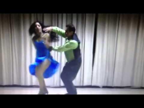 Rajkumary dancing cumbia sonidera