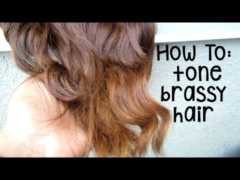 HOW TO| Tone Brassy, Orange Hair With Drugstore Dye