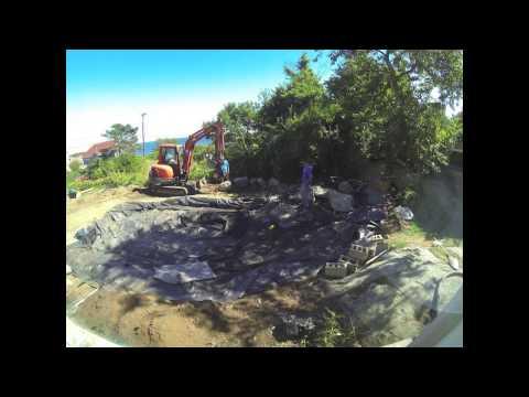 Koi pond dig - Day 3