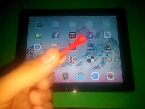 how to unlock your ipad 2 using a magnet! No password!