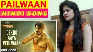 Dekho Aaya Pehlwaan Theme Song | Reaction | Kichha Sudeepa | Hindi Version