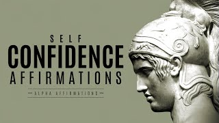 Powerful Self-Confidence Affirmations - No Music / Program Your Subconscious