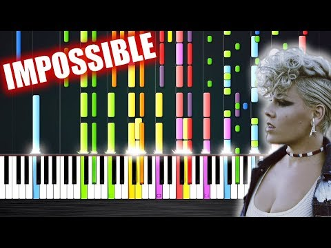 P!nk - What About Us - IMPOSSIBLE PIANO by PlutaX