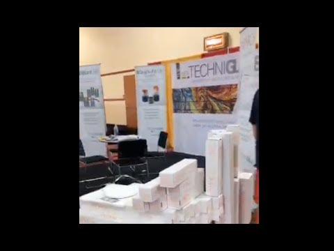 2017 Glass Expo   TechniGlass booth