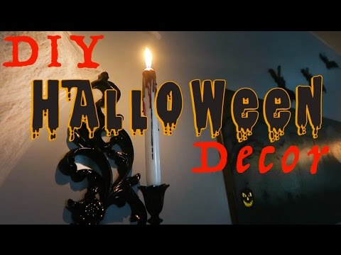 SCARY DIY Halloween Decorations 2016 VLOG 159