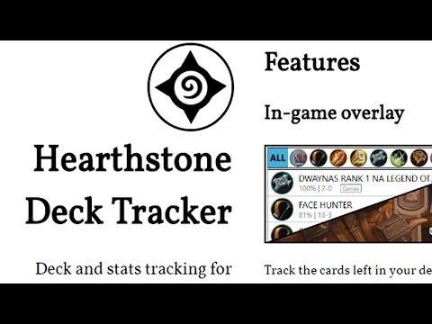 Hearth Stone Deck Tracker