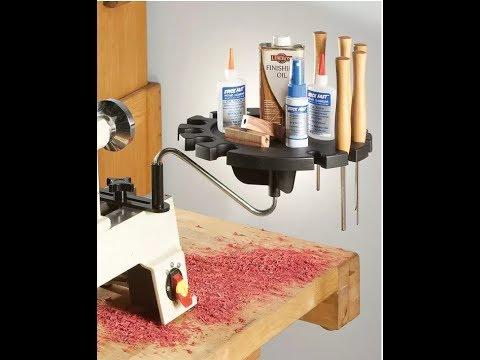 Unboxing Rockler lathe tool holder
