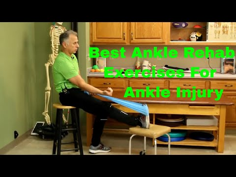 Best Ankle Rehabilitation Exercises for an Ankle Injury (Sprain or Fracture)