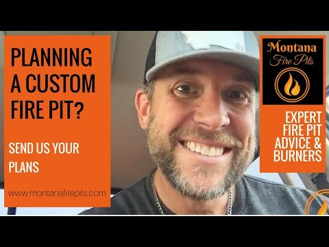 Planning your Custom Gas Fire Pit - Montana Fire Pits