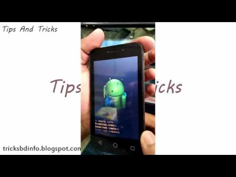 Alcatel Any Mobile Pattern Lock Remove Solution