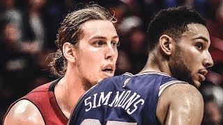 Ben Simmons HIT In the Face By DIRTY Olynyk Elbow! Embiid TROLLS Harden   2018 NBA Playoffs