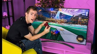 Finally A Tv For Gaming? - Lg Nano Cell