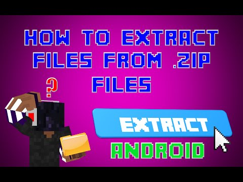 [ANDROID] How to Extract Files from a .Zip File