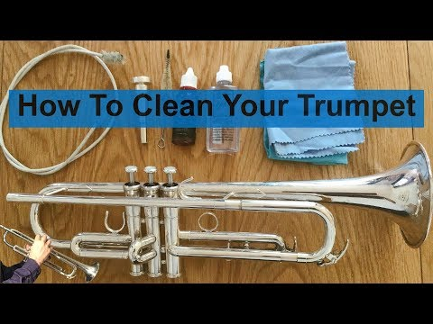 How To Clean Your Trumpet
