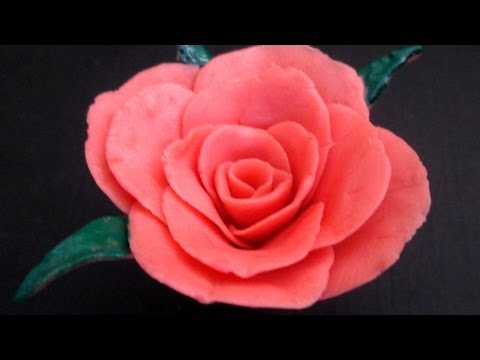 How To Make a Rose Flower With Soap (very easy)| DIY: Rose flower without using a Mold | diy