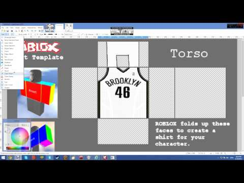 How To make NBA jerseys on ROBLOX
