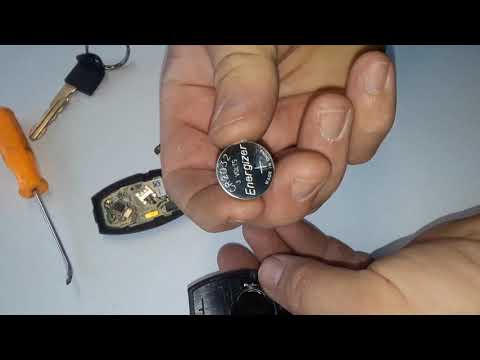 How to Change a Nissan Key Fob Battery - TRICK
