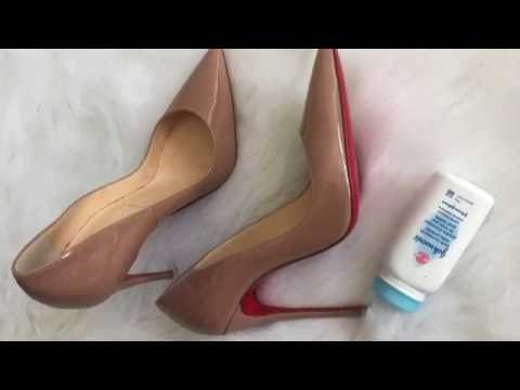 How to fix squeaky shoes? Feet DIY