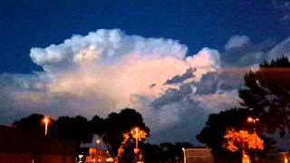 Rare Ball Lightning Video in Sioux Falls, SD