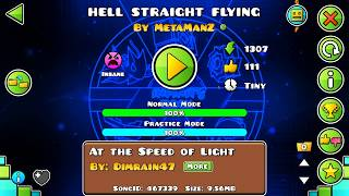 [extreme Challenge] Hell Straight Flying By Metamanz 100% / Fully Uncut Video Footage