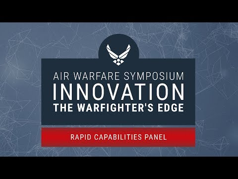 2018 Air Warfare Symposium - Rapid Capabilities Panel